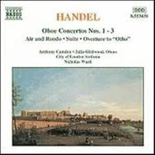 Handel Oboe Concertos 1-3